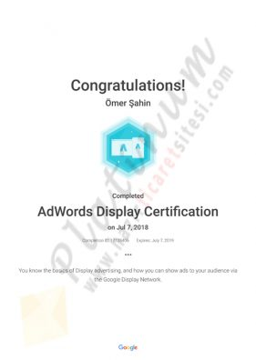 AdWords Display Certification Academy for Ads