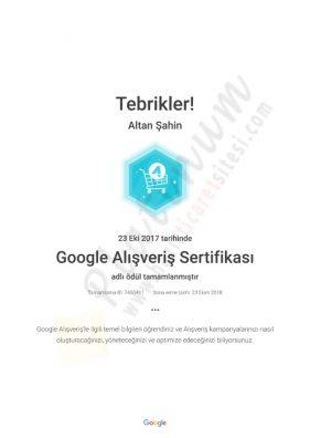 aGoogle Alışveriş Sertifikası_ Academy for Ads